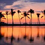 Tête de lit paradis Hawaii - Visuel