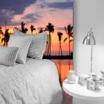 Tête de lit paradis Hawaii - Lit de 90