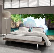 Tête de lit bateau - Lit de 140