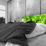 Tête de lit foret - Lit de 140