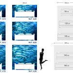 Tête de lit poissons- Guide
