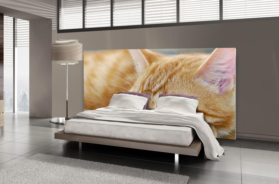 Tête de lit chaton - Lit de 140
