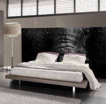 Tête de lit éléphant - Lit de 140