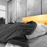 Tête de lit zèbres - Lit de 140