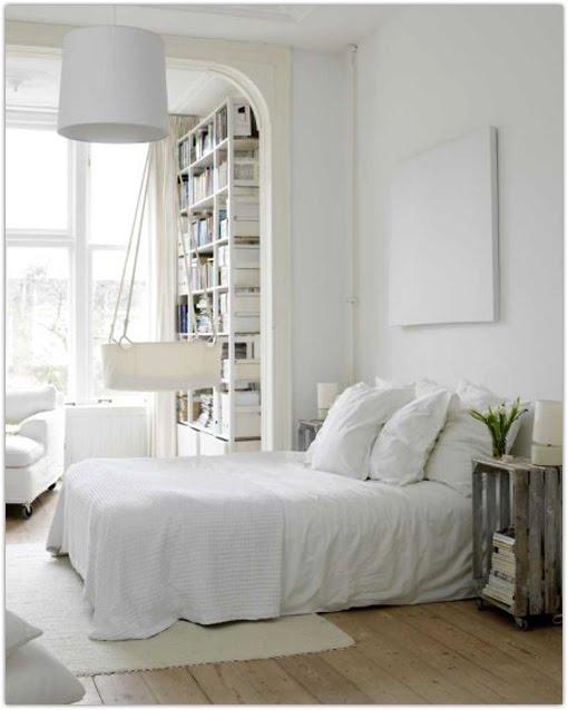 Une chambre aux couleurs de l 39 hiver marchand de sable - Chambre toute blanche ...