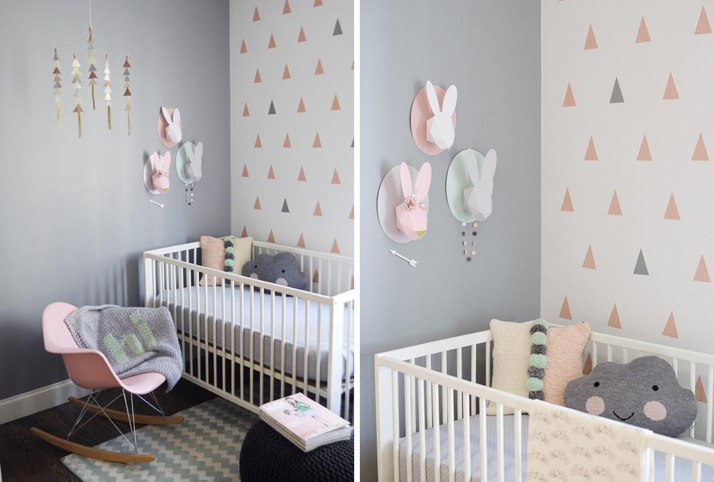 6 combinaisons de couleurs gagnantes pour la chambre de bébé ...