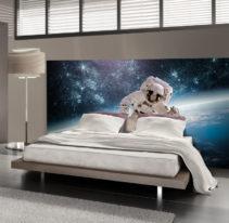 Tête de lit astronaute - Lit de 140
