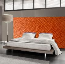 Tête de lit cuir - Lit de 140