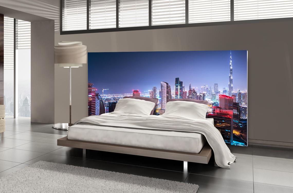 Tête de lit Dubaï - Lit de 140