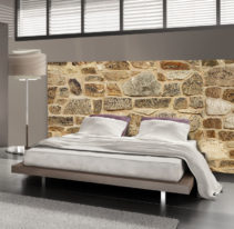 Tête de lit pierre de parement - Lit de 140