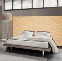 Tête de lit sable - Lit de 140