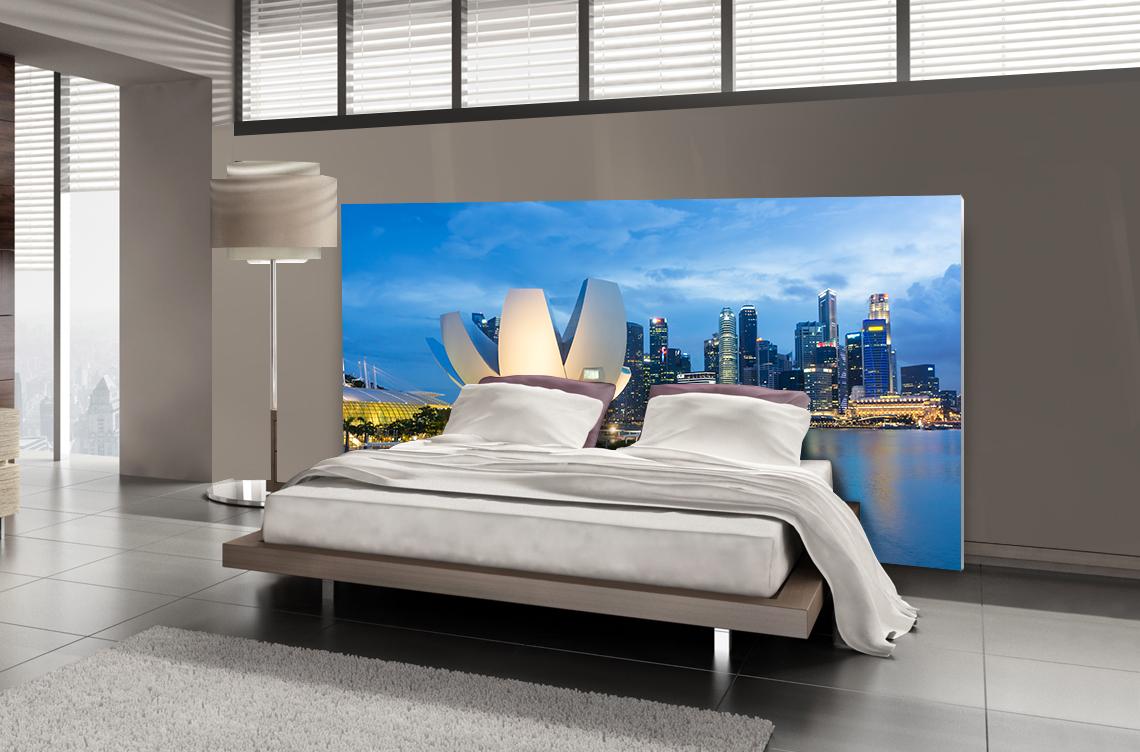 Tête de lit Singapour - Lit de 140