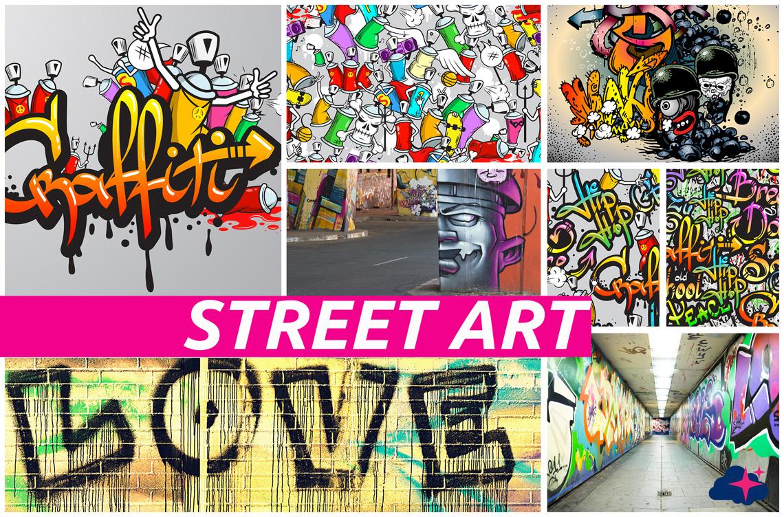 Tête de lit Street Art - Plaque compact - PLANOVISION