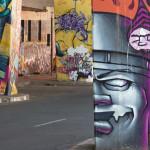 Tête de lit graffiti Johannesburg - Design