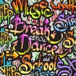 Tête de lit graffiti musique - Design