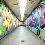 Tête de lit tunnel urbain - Design