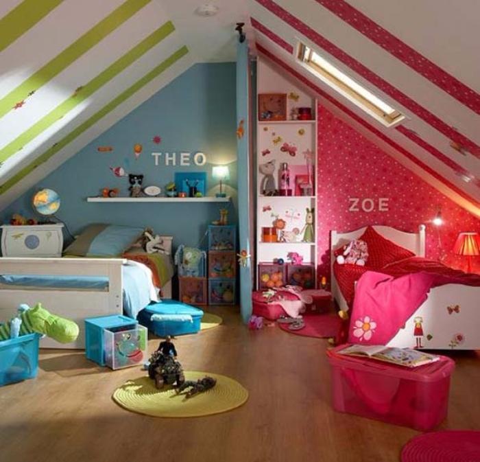 Amenager Une Chambre Pour 2 Enfants