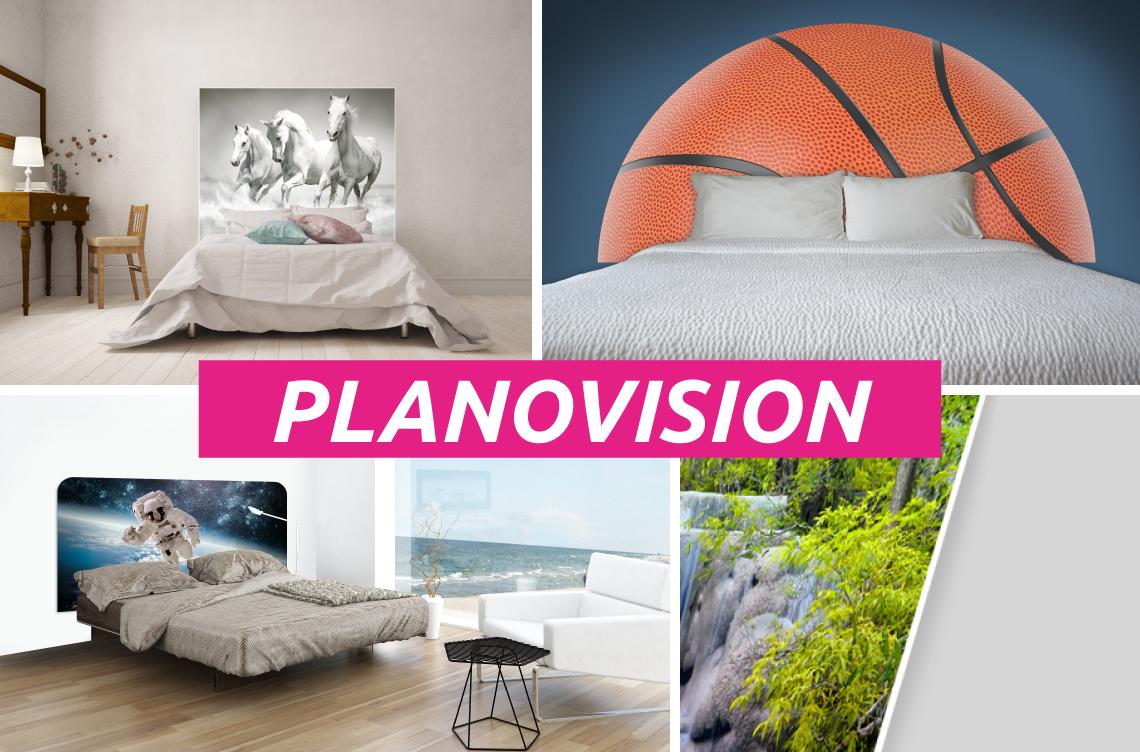 Tête de lit plaque compact - PLANOVISION