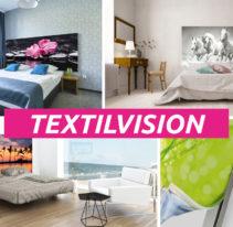 Tête de lit cadre aluminium - TEXTILVISION