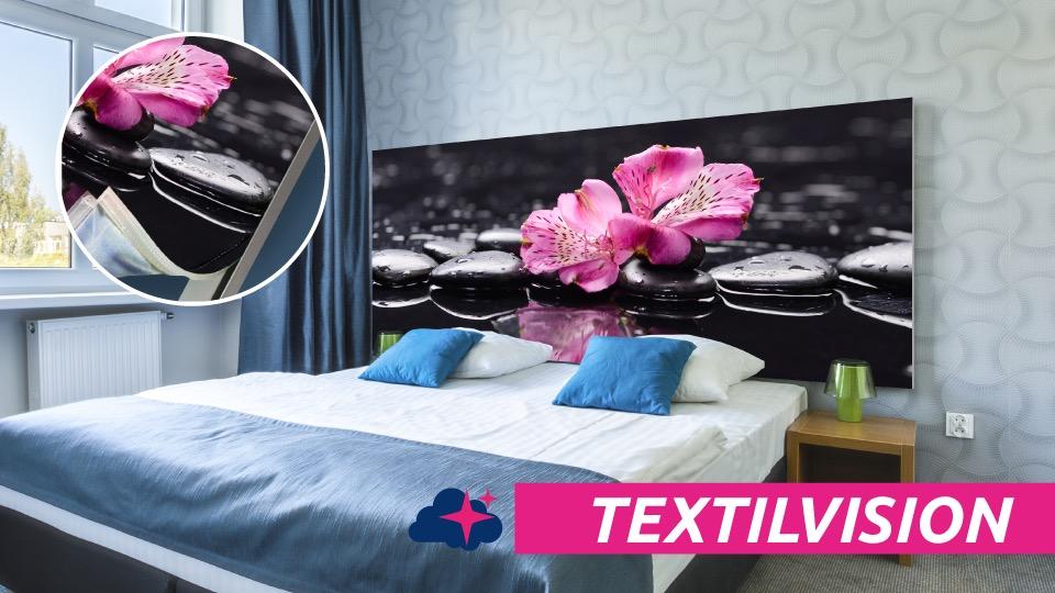 Tête de lit TEXTILVISION - Présentation