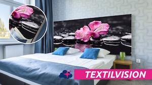 Tête de lit tissu - TEXTILVISION