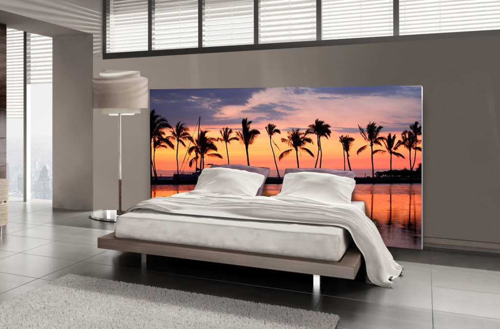 Tête de lit hawaï - Lit de 140