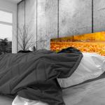 Tête de lit automne - Lit de 140