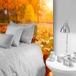 Tête de lit automne - Lit de 90