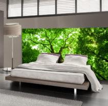 Tête de lit arbres - Lit de 140