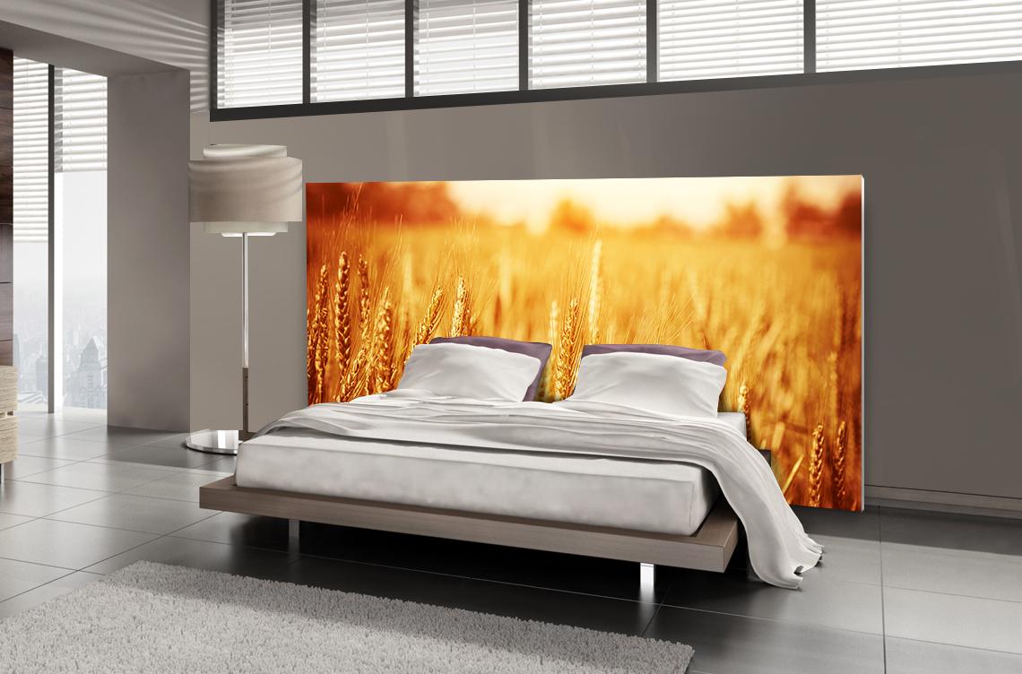 Tête de lit blé - Lit de 140