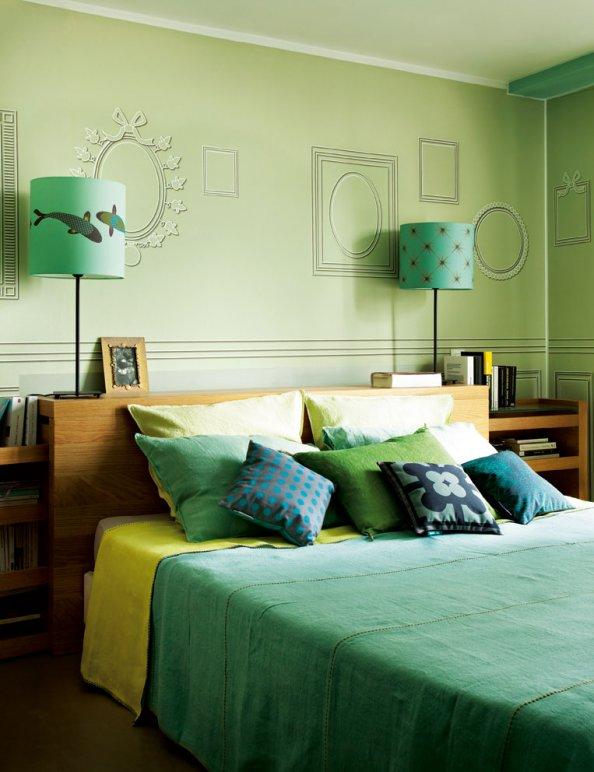 Chambre Verte Et Jaune : Quelle couleur pour votre chambre à coucher