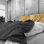 Tête de lit chat - Lit de 140
