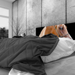 Tête de lit cheval alezan - Lit de 140