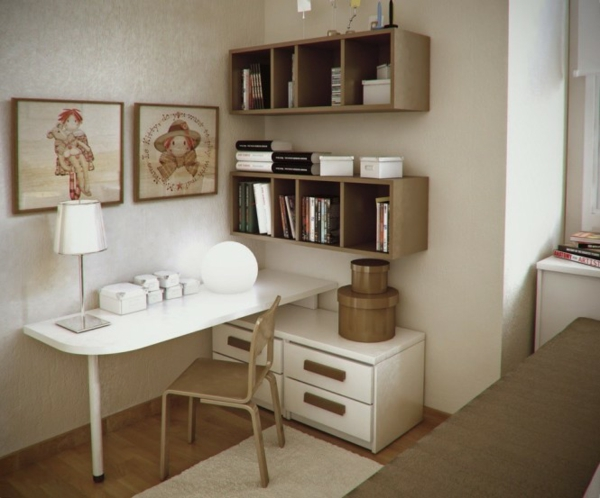 Un bureau dans la chambre bonne ou mauvaise id e marchand de sable - Petit bureau chambre ...