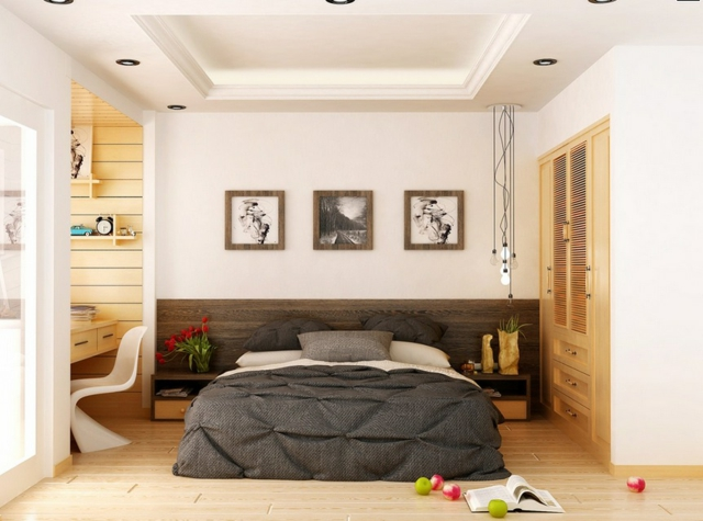 un bureau dans la chambre bonne ou mauvaise id e marchand de sable. Black Bedroom Furniture Sets. Home Design Ideas