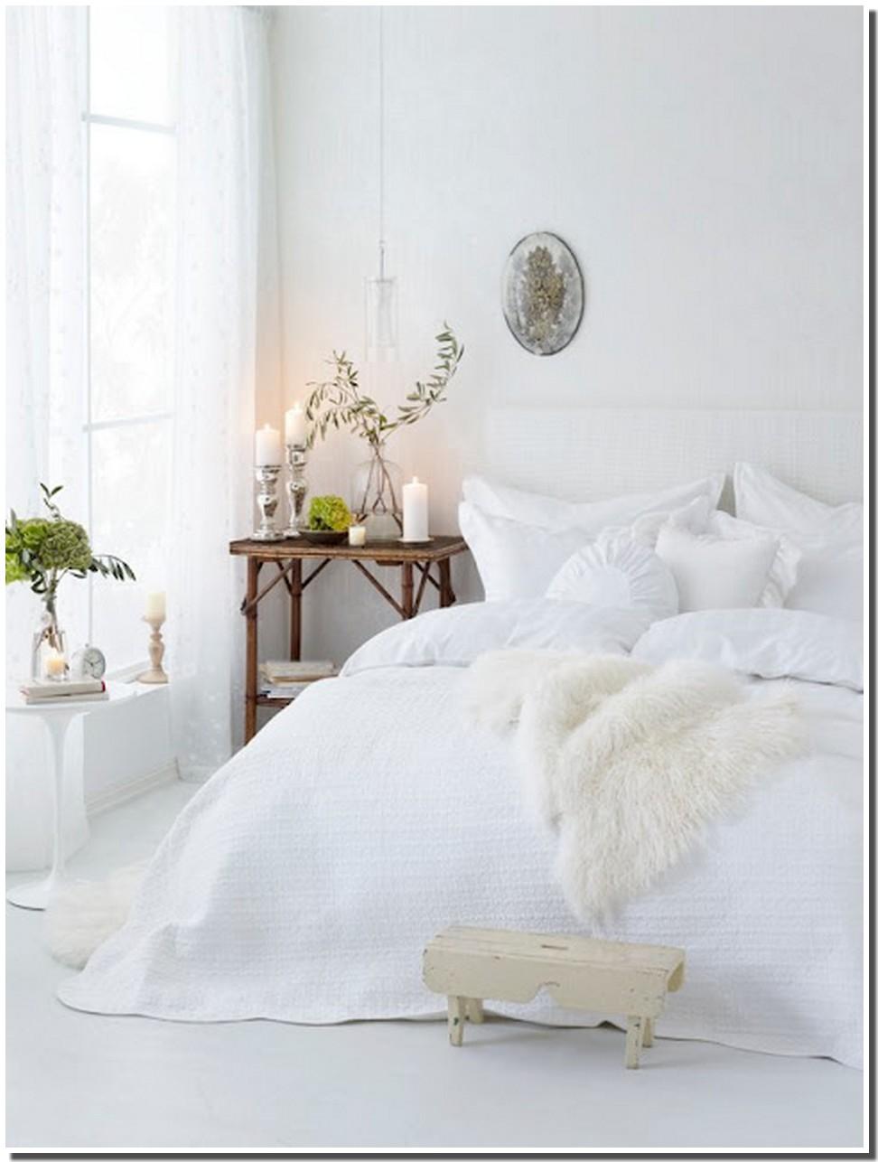 Une chambre aux couleurs de l 39 hiver marchand de sable for Chambre blanche et argentee