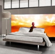 Tête de lit méditation - Lit de 140