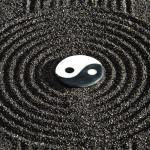 Tête de lit ying et yang japon - Design