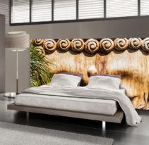 Tête de lit bouddha - Lit de 140
