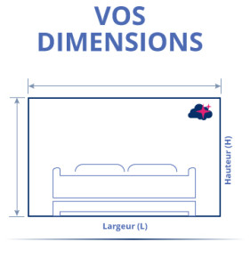 Tête de lit personnalisée à vos dimensions