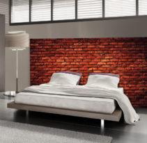 Tête de lit brique - Lit de 140