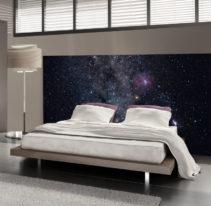 Tête de lit ciel étoilé - Lit de 140