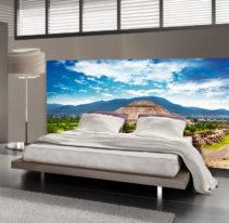 Tête de lit Teotihuacan - Lit de 140