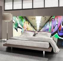 Tête de lit tunnel urbain - Lit de 140